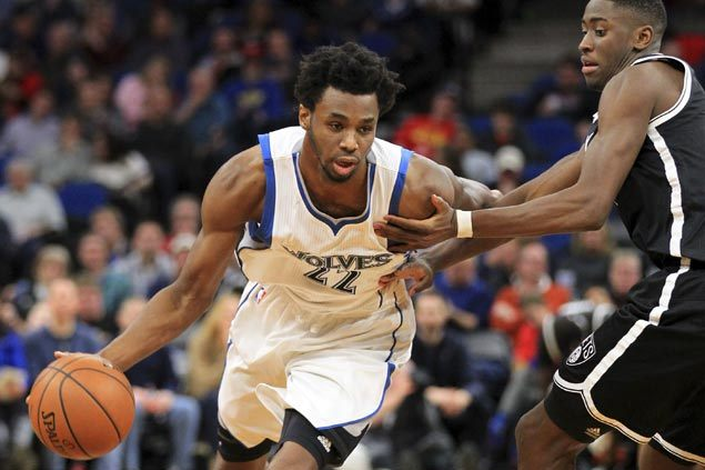 Image for Wolves owner wants andrew wiggins to improve to earn max deal mum on kyrie irving trade rumors