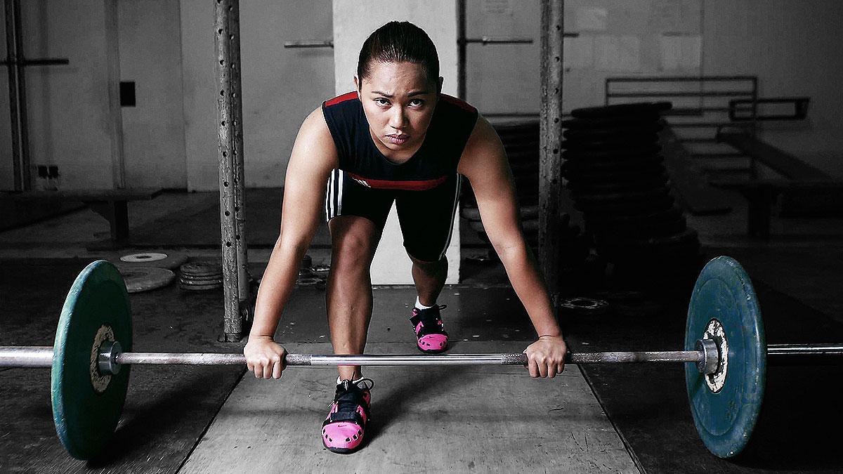 Rio Olympics silver medalist Hidilyn Diaz is SPIN.ph 2016 Sportsman of the Year
