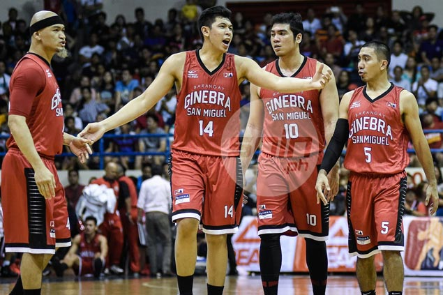 'Next man up' Kevin Ferrer fills void left by injured Joe Devance with solid defensive stand