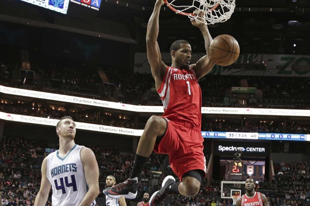 Harden dominated as Rockets soared past Hornets