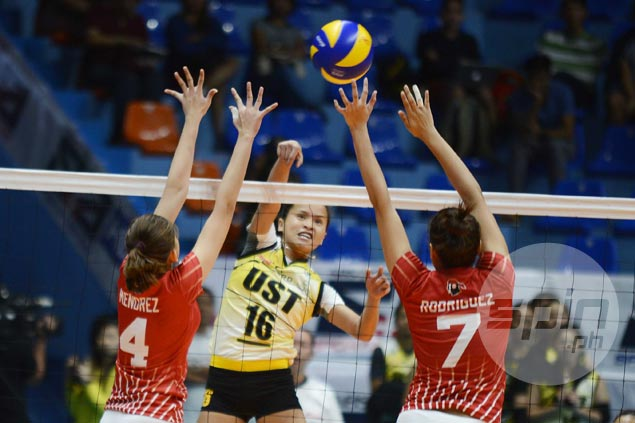Sisi Rondina seeks advice from UST elders as she learns the ropes in role as skipper