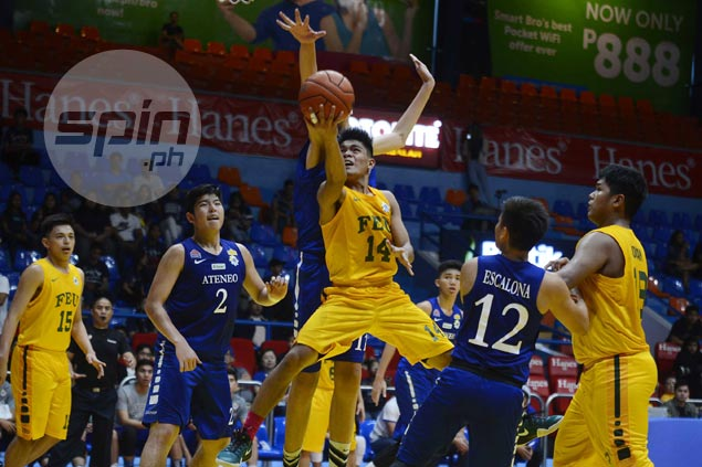 FEU Baby Tamaraws hold off Ateneo to get shot at NU Bullpups in UAAP juniors finals