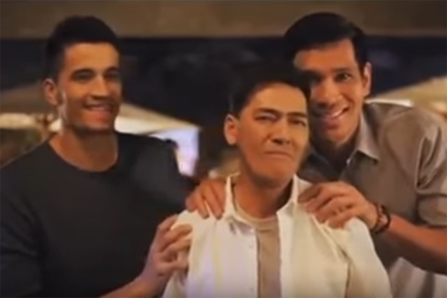 Fajardo no fan of 'Sabado Nights' but had a blast taping commercial with 'Bossing'