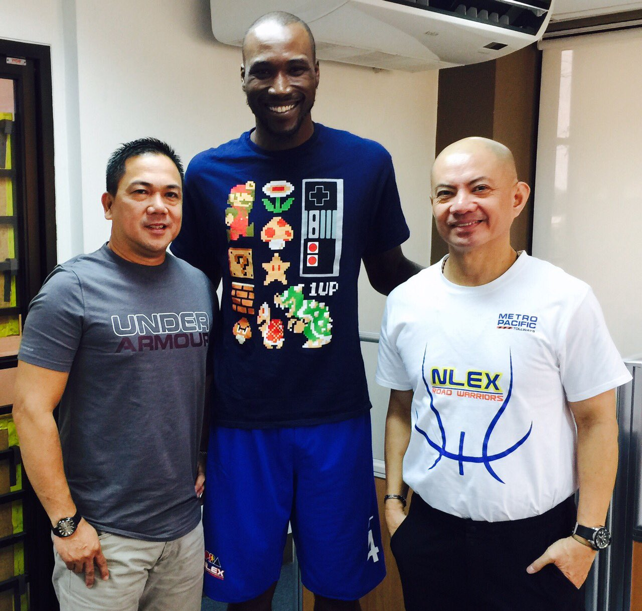 Wayne Chism looking in the best of shape as he reunites with Yeng Guiao at NLEX