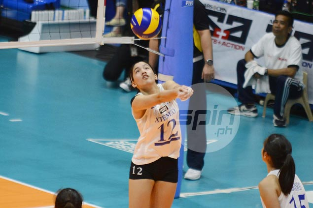 Ateneo Lady Eagles gain share of top spot, topple erstwhile unbeaten leader UP Lady Maroons