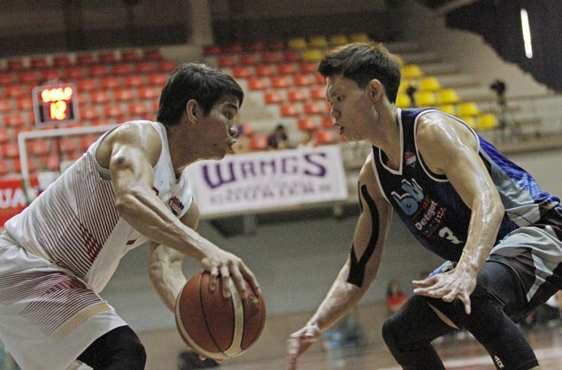 Batangas scores second straight victory, eliminates winless Blustar