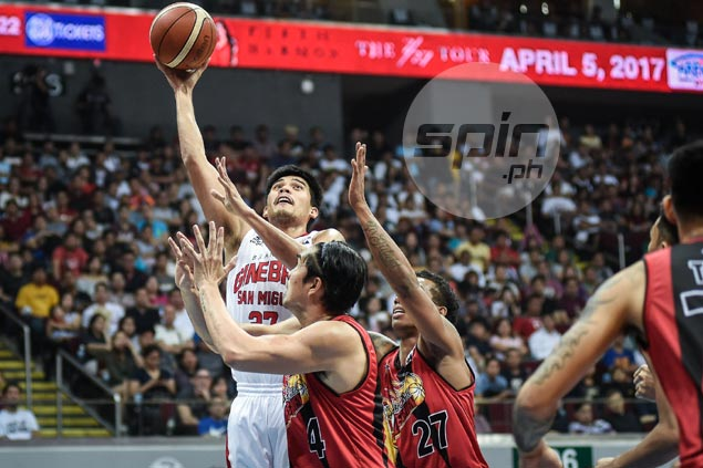 Ginebra suffers another blow as Jervy Cruz doubtful for Game Three due to shoulder injury
