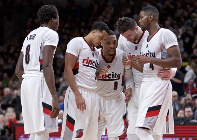 Lillard backs up bold 'Portland in six' prediction, says new-look Blazers can upset Warriors