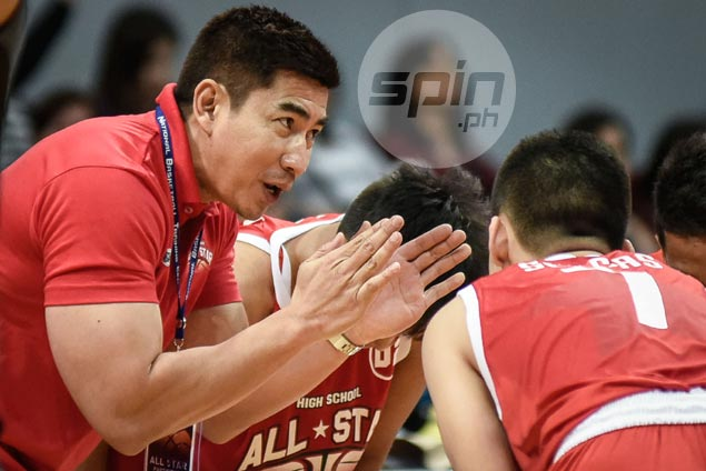 Aldin Ayo glad to pay back to his NBTC roots in coaching provincial high school All-Stars