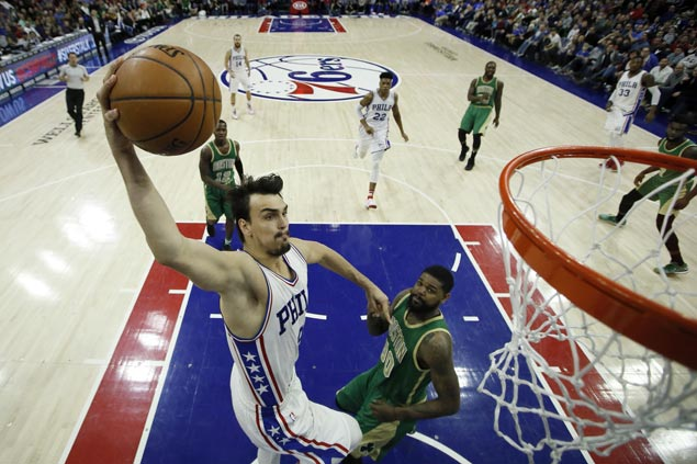 Sixers fight back from 13 down to beat Celtics squad still missing Isaiah Thomas