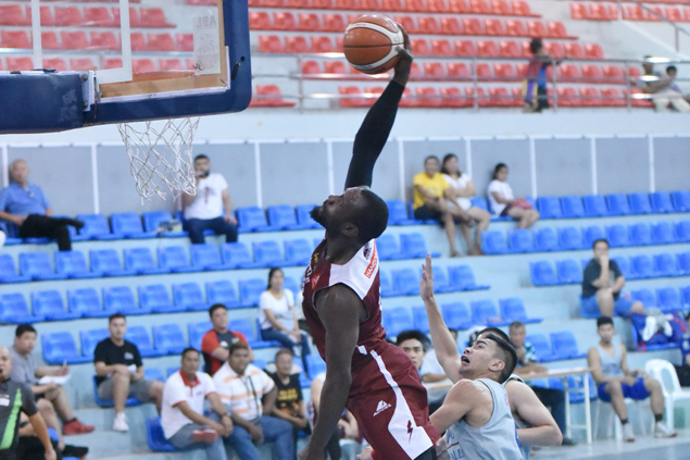 Bright Akhuetie powers UP over Letran to seal Milcu Elite Showcase finals duel vs Lyceum