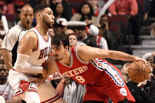 Saric Scores 32, Bulls Fall Flat in Sixers Win
