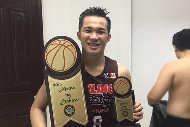 Desiderio takes 500 practice shots a day to polish his shooting and extend his range