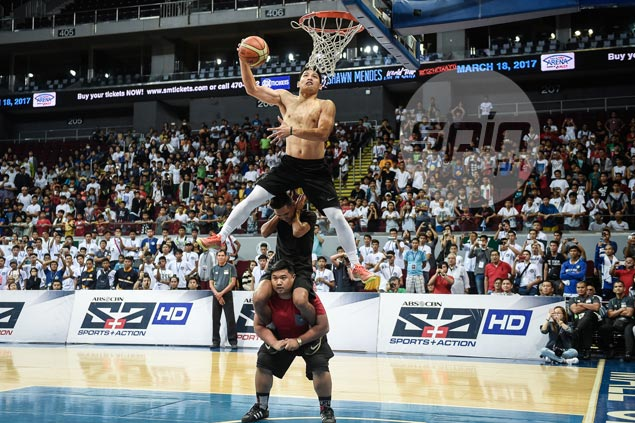 'Zero Gravity' David Carlos longs for chance to compete against PBA's best dunkers in All-Star Week