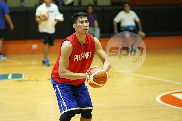 Mac Belo in doubt for Blackwater, Gilas 5.0 after aggravating knee injury