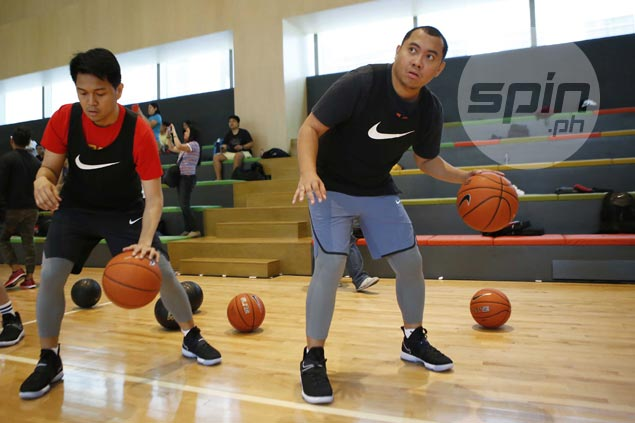 For LeBron-like versatility, try these drills in Nike Come Out of Nowhere training