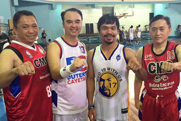 President's men stand at forefront of sports development in Davao