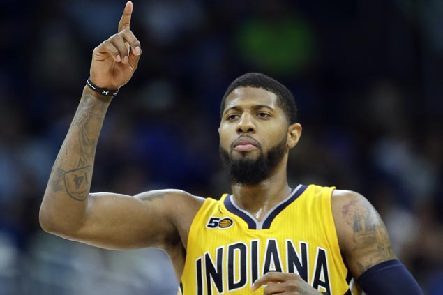 Paul George has told Pacers he will leave as a free agent next season, sources say