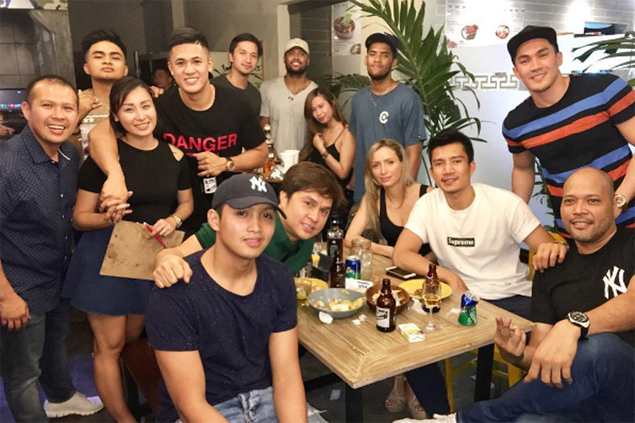 Jericho Cruz wastes no time preparing for life after PBA, invests in Mexican restobar