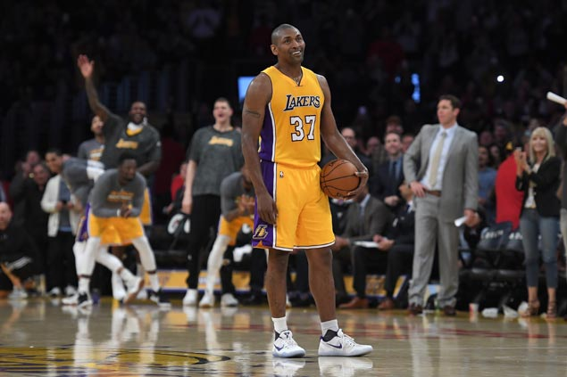 Image for Metta World Peace bound for Philippines? NBA vet bares plan to visit Manila on August 11 | SPIN.ph