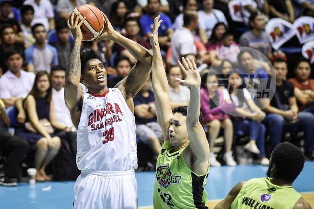 As pain from foot injury eases, Joe Devance fills dearth in big men for Ginebra