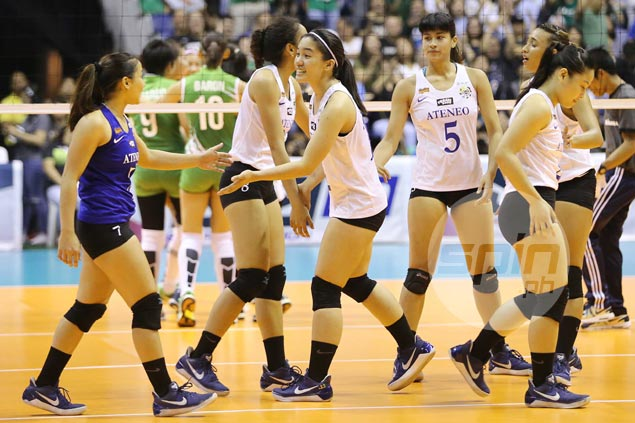 PSL exhibition between Ateneo Lady Eagles, UST Tigresses not pushing through