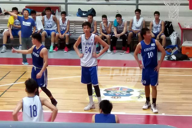 Batang Gilas' young bigs toughened by games vs college teams in Seaba U16 buildup