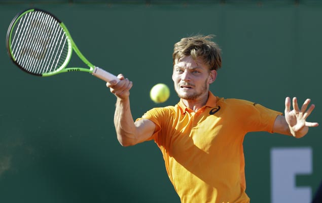 Djokovic dumped out in Monte Carlo quarters by Goffin