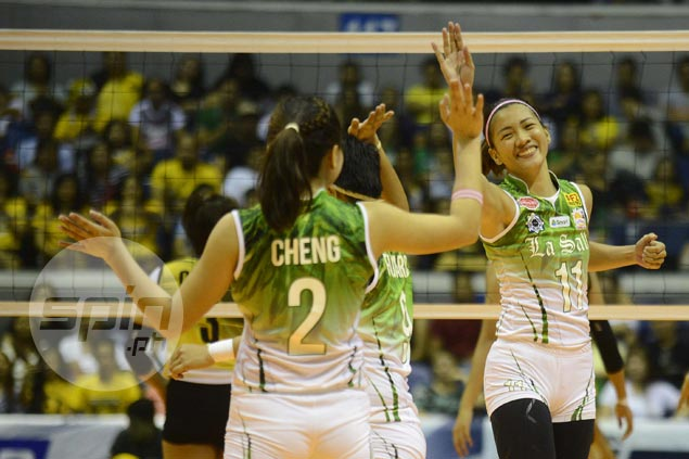 La Salle Lady Archers back in finals after disposing of UST Tigresses