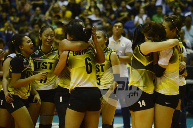 Graduating players Pam Lastimosa, Chloe Cortez believe they are leaving UST team in good hands