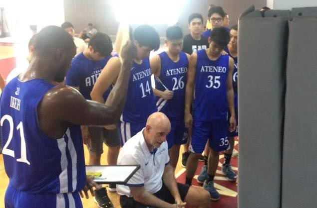 William Navarro shows way as Ateneo Blue Eagles defeat FEU Tamaraws