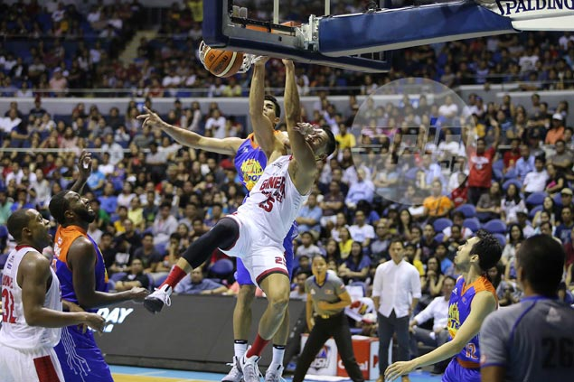 Red-hot Ginebra rains threes on TNT KaTropa, makes it four victories in a row