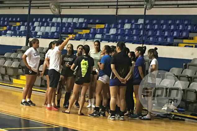 No let-up for Ateneo Lady Eagles in training despite UAAP Finals postponement