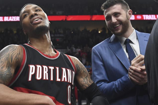 'Nurkic Fever' boosts Blazers in regular season but without him NBA's youngest squad no match for Warriors