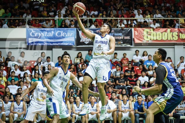Gilas young turks show mettle by beating veteran-laden Luzon selection in PBA All-Stars