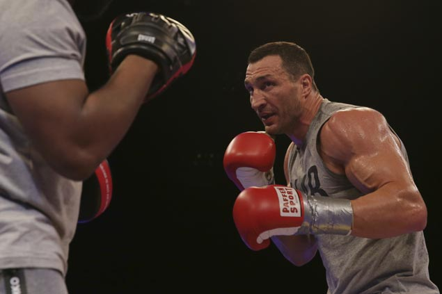 Wladimir Klitschko ready to be aggressor in last hurrah for title against young champ Joshua