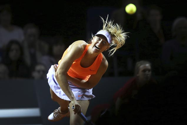 Maria Sharapova granted wild card to pre-Wimbledon event days after French Open snub