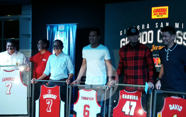 Scottie Thompson thrilled to be in great company in launch of Ginebra collectible jerseys