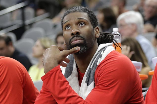 Nene out of Rockets' playoff push