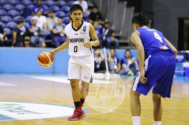 PH-born Singapore player Reuben Amado says love for