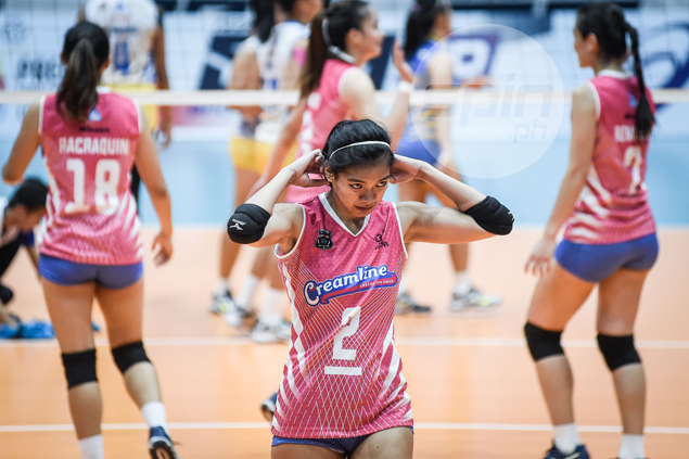 Valdez won't suit up for Creamline in PVL semis: Rebisco