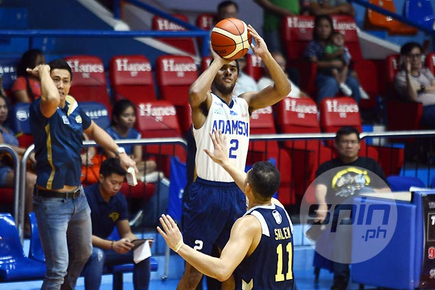 Adamson Falcons weather NU Bulldogs late rally to stretch win streak to five