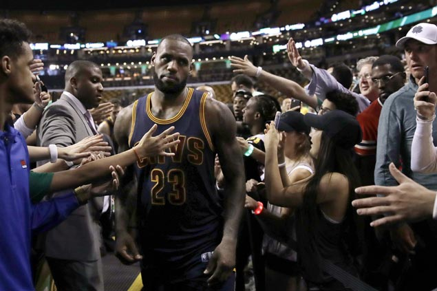 After dominant Game 1, LeBron James vows to be 'much better' as Cavs brace for motivated Celtics