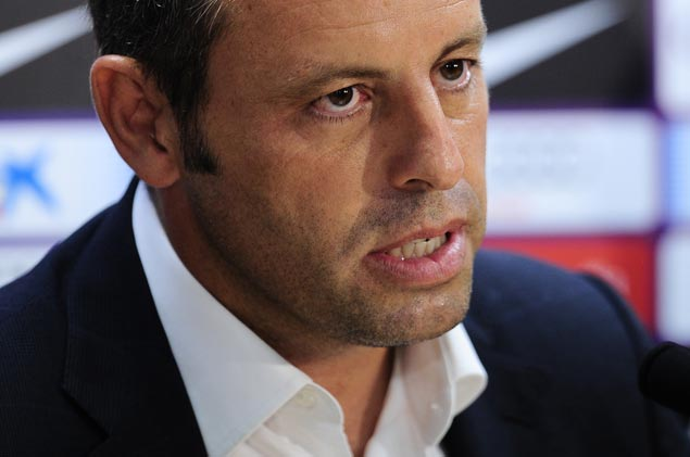 Former FC Barcelona president arrested on money laundering charges