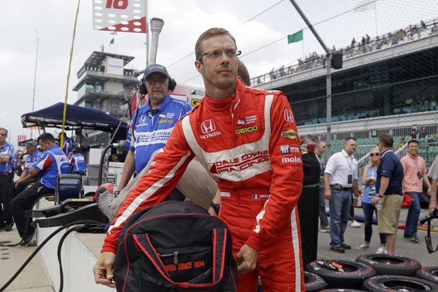 Bourdais out of hospital after after barrier crash