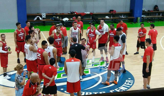 'Mang Crispin' Tiamzon brightens up mood in Ginebra practice as he continues recovery from stroke
