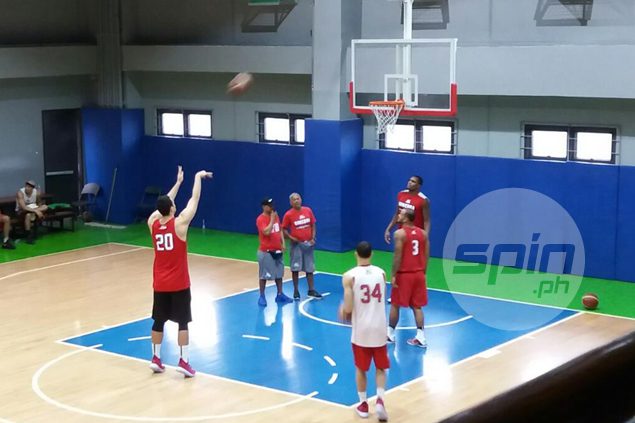 Greg Slaughter says knee 'stronger than before' as he joins first Ginebra practice since injury