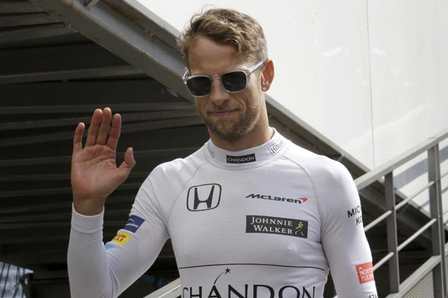 Button sets the Champagne aside for Monaco return