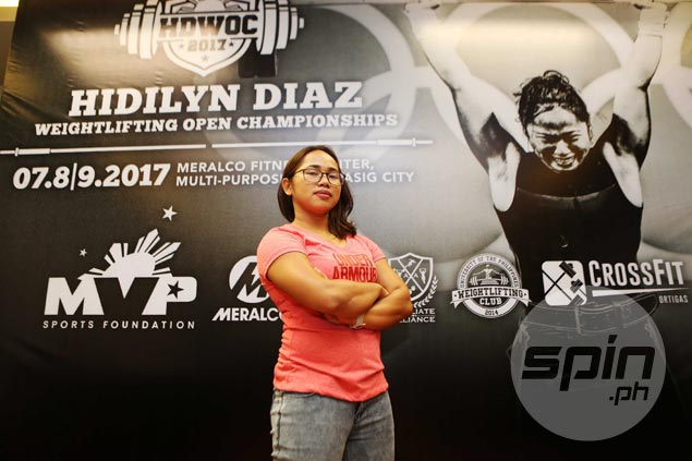 Another dream fulfilled for Hidilyn Diaz after launch of own weightlifting tournament