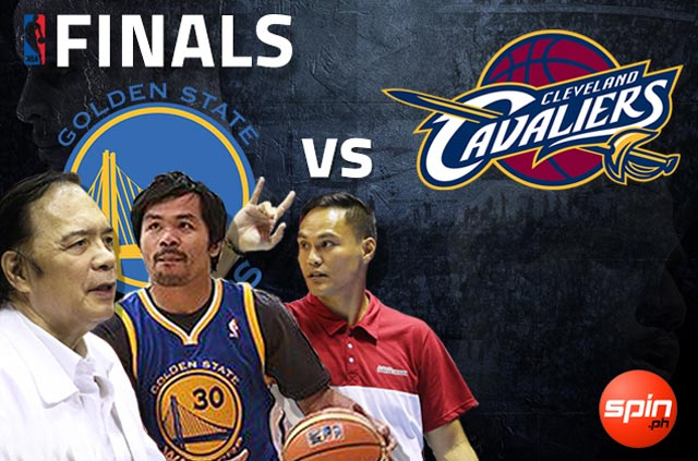Jaworski, Pacquiao are Warriors all the way. See who else see a win for Curry and Co.